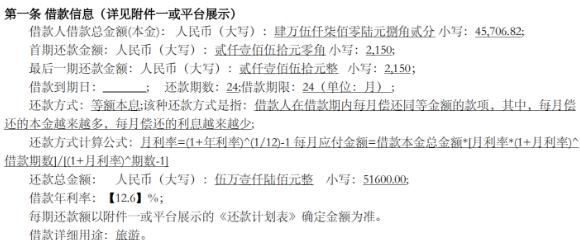 玖富万卡高利贷严重超过国家规定的年利率24%的标准